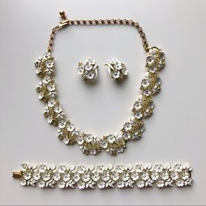 🔥 RARE Condition Vintage Charel Jewelry Set